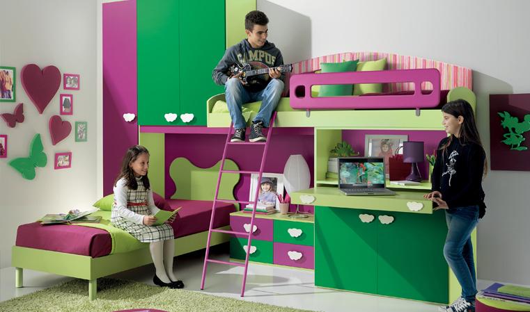Disegno idea camerette valentini camerette valentini - Valentini mobili rimini ...
